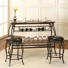 cramco warner 3 piece pub table set in bronze u0026 chocolate beyond