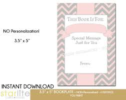 printable baby shower bookplate baby shower book plate