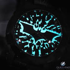 Batman Lights Heartbeat Batman Dna Gotham City Is Romain Jerome U0027s Glowing