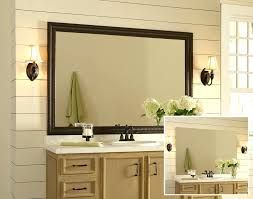 Oak Framed Bathroom Mirror Custom Mirror Frames Toronto Oak Rustic Framed Made Mirror Design