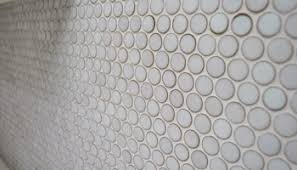 How To Get Bathroom Grout White Again - making old discolored grout look like new young house love