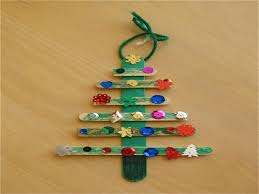 craft stick christmas tree christmas lights decoration