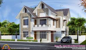 European Home by European House Designs In Kerala House And Home Design