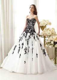 wedding dresses black and white wedding dresses wedding ideas