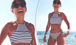 celebrity women s pubic hair davina mccall exposes underboob in eye popping bikini pic amid