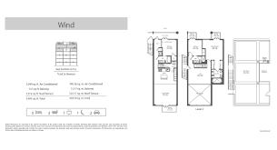 Parkland Residences Floor Plan by Terra Beachside Villas Select Realty
