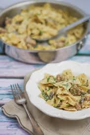 Pasta Sausage Creamy Pasta With Sausage And Mushrooms What Should I Make For