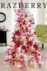 pink and white tree theme tree