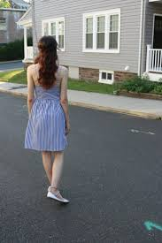 4th of july stars u0026 stripes 19 blue and white striped dress