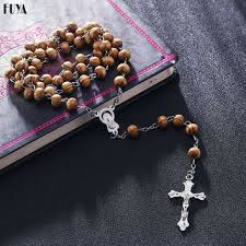 diy rosary shop rosary necklace on wanelo