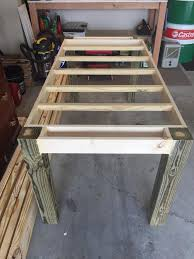 Plans For Wood Patio Table by How To Make Your Own Farmhouse Table Farmhouse Table Base