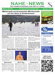 Gesundheitsamt Bad Kreuznach Nahe News Die Internetzeitung Kw06 2012 01 By Markus Wolf Issuu
