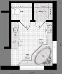 how to design a bathroom floor plan floor plan for master bath we stayed in a hotel with this plan