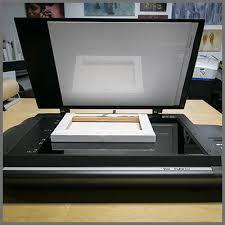 large bed scanner scan art printer