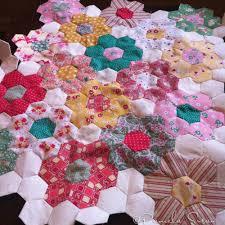 pamela susan a sea of stitches a grandmother u0027s flower garden