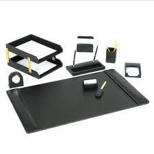Desk Set Organizer Office Desk Office Desk Set Organizer Sets Superb Leather