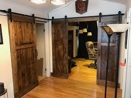 Wooden Barn Doors For Sale by Double Barn Door For Bathroom Solid Bronze Cabin Door Hook Latch