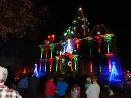 guernsey co courthouse holiday lights u0026 music show