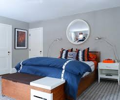 Orange And White Rugs Blue And Orange Boys Bedroom With Gray Rug Contemporary Boy U0027s Room