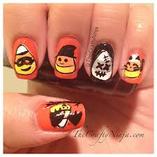 diy halloween nail stickers the crafty ninja