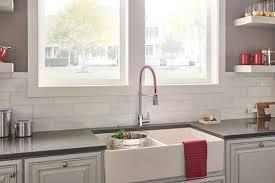 Danze Pre Rinse Faucet Foodie Caliente Single Handle Pre Rinse Pull Down Kitchen