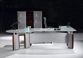 modern glass work desk elegant modern glass desk pertaining to office furniture place desks