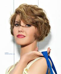 new short hairstyle very short bob with waves that is barely