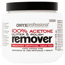 onyx professional 100 acetone glitter u0026 polish remover 8 fl oz