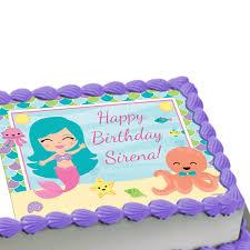 edible cake images mermaid edible image cake decoration