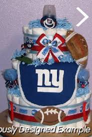 all sports diaper cakes ny giants diaper creations