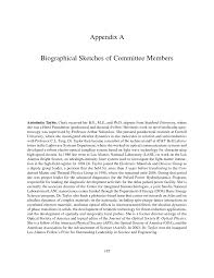 appendix a biographical sketches of committee members