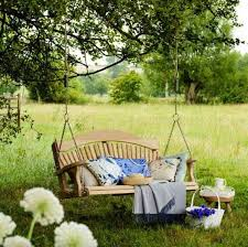 exterior awesome diy vintage porch swings and swing trees design