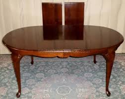 pennsylvania house cherry queen anne dining room table and rare