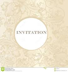Card Making Wedding Invitations Elegant Wedding Invitation Card For Design Stock Photo Image