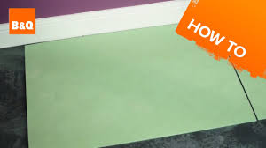 B And Q Flooring Laminate How To Lay Flooring Part 2 Underlay Youtube