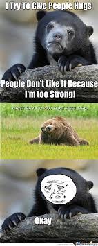 sad bear by tfail1379 meme center