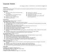 Resume Examples Summary by Gaming Bartender Resume Sample Quintessential Livecareer