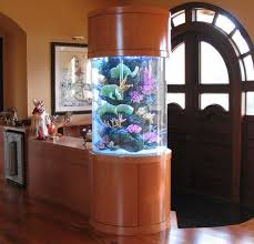 pillar designs for home interiors inspiring rounder pillar aquarium design for living room entrance