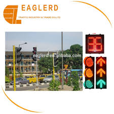 solar traffic signal lights system with controller flashing light