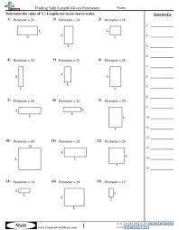 best 25 perimeter worksheets ideas on pinterest kids math math