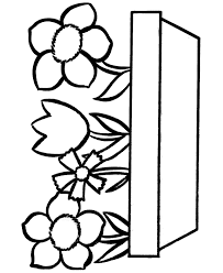 fun coloring pages easy coloring pages free printable flowers