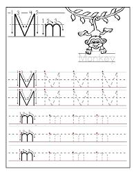 free printable letter m worksheets for kindergarten u0026 preschool