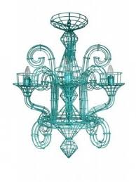 Wire Chandelier Diy French Wire Chandelier Foter