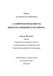 Calaméo Cfe Immatriculation Snc Calaméo Rapport Sur La Simplification Du Droit Au Service De La