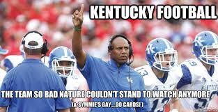 Funny College Football Memes - kentucky football memes quickmeme
