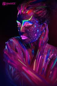 100 blacklight halloween ideas colorful paint party google
