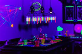 blacklight party ideas kara s party ideas glow birthday party kara s party ideas