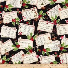 kaufman holly jolly christmas recipe cards black discount