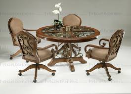 kitchen table and chairs with casters kitchen table and chairs with casters londonlanguagelab com