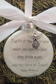 infant loss christmas ornaments in memory infant memorial ornament charm the thing you
